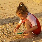 Collecting shells by MichaelBr