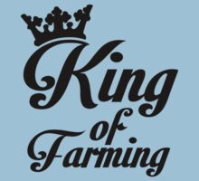 King of farming Kids Clothes
