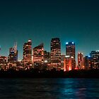 Cityscape by Night by Kelsi Doscher