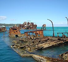 Rusty Ships by Of Land & Ocean - Samantha Goode