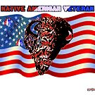 Native American Veteran by richardredhawk