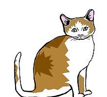 brown kitty by EllieBarrett