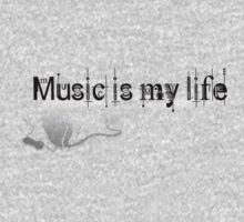Music is my life!  by Rebs O