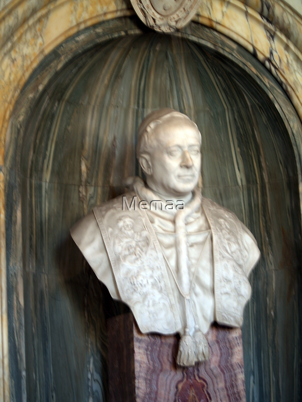 Bust of a Pope from the Vatican by Memaa
