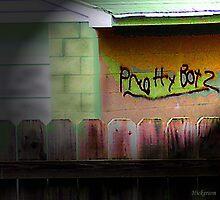 Garage Graffiti by hickerson