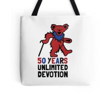 Grateful Dead 50th Anniversary - Dancing Bear Tote Bag