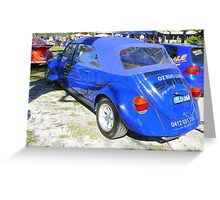 STRETCH VW LIMO Greeting Card