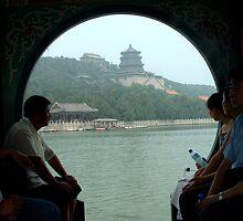 On Kunming Lake by ozecard