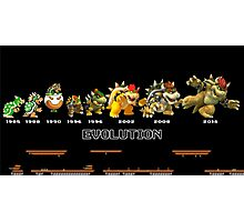 The Evolution of Bowser Photographic Print