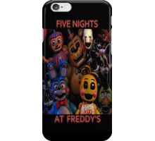 FNAF 2 animatronics iPhone Case/Skin