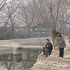 Fishing on a cold morning by Roger Smith