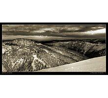 Hotham Snowfields Photographic Print