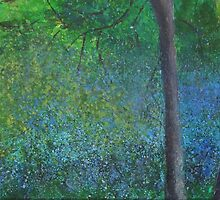 Bluebell Wood by Susan Duffey