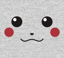Pikachu Face Kids Clothes