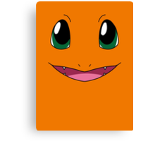 Charmander Face Canvas Print