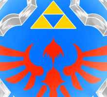 Hero's Shield Sticker