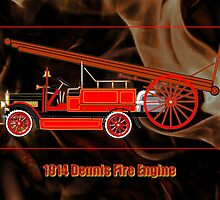 1914 Dennis Fire Engine - all products by Dennis Melling