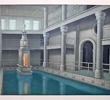 The Pool Room by Thomas  Sciacca
