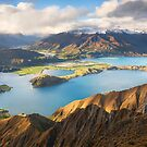 Wanaka Mountains by Michael Breitung