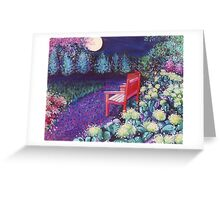 The Moon Seat Greeting Card
