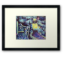 Walk to the Sea Framed Print