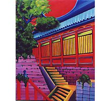 Back Door to the Temple Photographic Print