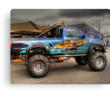 Offroad Racer Canvas Print