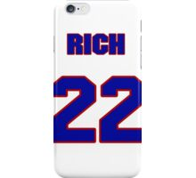 National baseball player Rich Becker jersey 22 iPhone Case/Skin