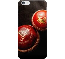 Cricket Balls iPhone Case/Skin
