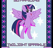 Twilight Sparkle Poster by RodLogic