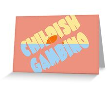 Childish Gambino Kauai Greeting Card
