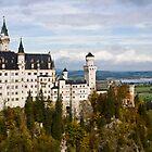 Neuschwanstein Castle by MrNK4rd