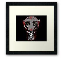 Hannibal & Will  Framed Print