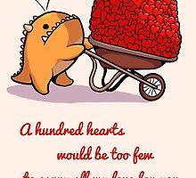 a Hundred Hearts by itsasooz