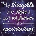 My Thoughts are Stars by malia92