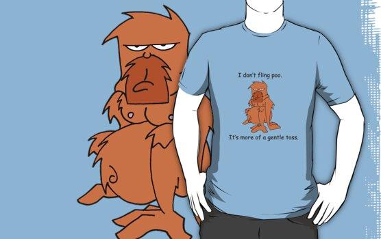 Orangutang Antics by Sonja Wells