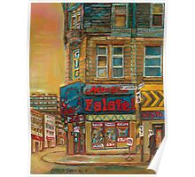 CANADIAN CITY SCENES MONTREAL ART BY CANADIAN ARTIST CAROLE SPANDAU Poster