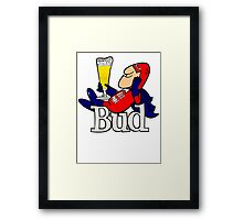Budweiser Bud Man New  Framed Print