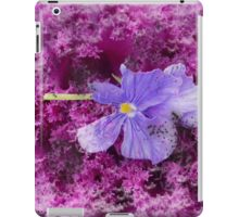 The Kale & The Pansy iPad Case/Skin
