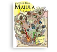 Dark Souls 2 - Greetings From Majula Canvas Print