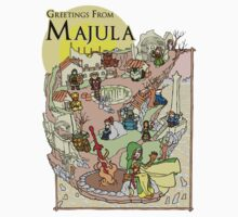 Dark Souls 2 - Greetings From Majula Kids Clothes