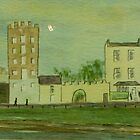 Glynn's Mills, Frances Street, Kilrush, Co. Clare (15 x 5 inches) by Pauline Dunleavy
