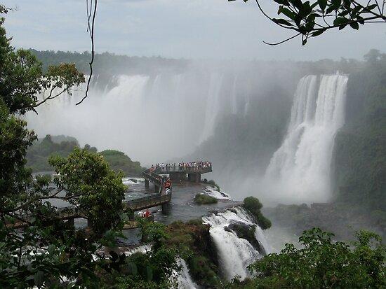 Iguazu Falls  South America by dougie1