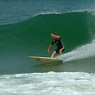 Surfer, National Seashore, Cape Cod by fauselr