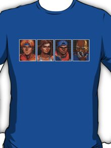Streets of Rage 3 – Character Bio Pictures T-Shirt