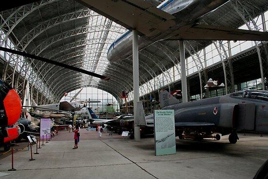 Aircraft museum in Briusel (Belgium) by Antanas