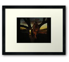 Rule of the jungle Framed Print