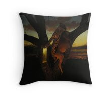 Rule of the jungle Throw Pillow