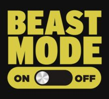 Beast Mode On by designbymike