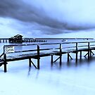 Portsea postcard by Geraldine Lefoe